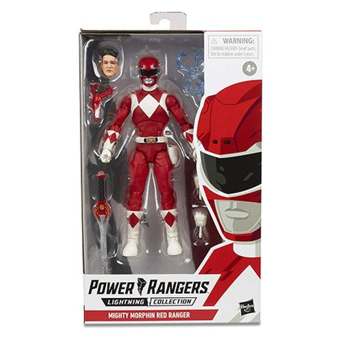 POWER RANGERS LIGHTNING COLLECTION WAVE 3 MIGHTY MORPHIN RED RANGER