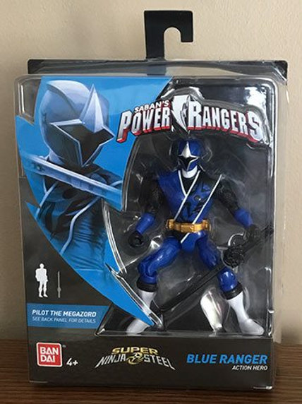 Blue Ranger Action Hero