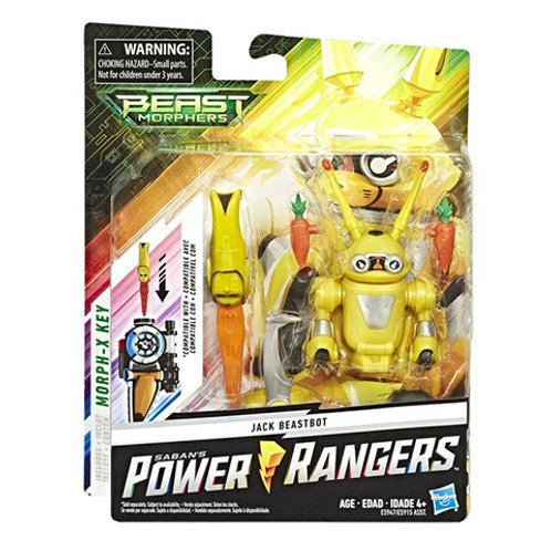 Power Rangers Beast Morphers Jack Beastbot Action Figure