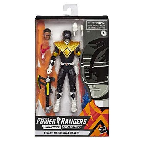 POWER RANGERS LIGHTNING COLLECTION MMPR DRAGON SHIELD BLACK RANGER WALGREENS EXC