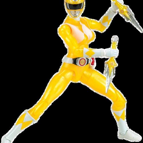 Power Rangers Legacy Collection Metallic Mighty Morphin Yellow Ranger