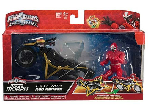 Mega Morph Cycle with Red Ranger
