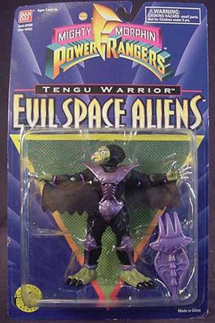 "Mighty Morphin Power Rangers Evil Space Aliens 5.5"" Movie Edition Tengu Warrior"