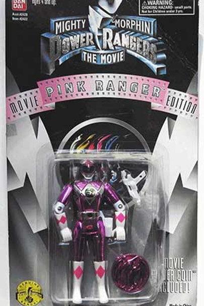 "Mighty Morphin Power Rangers 5.5"" Movie Edition Standard Pink Ranger Action Figu"