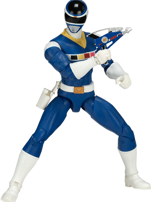 Power Rangers Legacy Collection Wave 3 Blue In Space Ranger