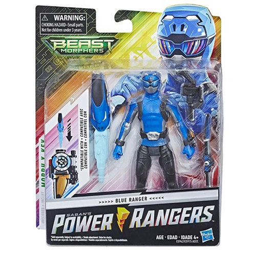 Power Rangers Beast Morphers Blue Action Figure
