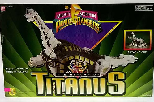 Mighty Morphin Power Rangers The Return of Titanus Carrier Zord