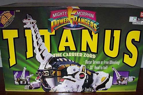 Mighty Morphin' Power Rangers Titanus Carrier Zord Original 1993 Edition
