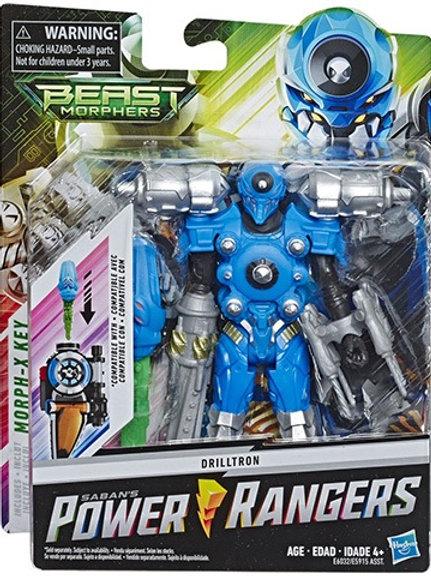 Power Rangers Beast Morphers Drilltron Villain Action Figure