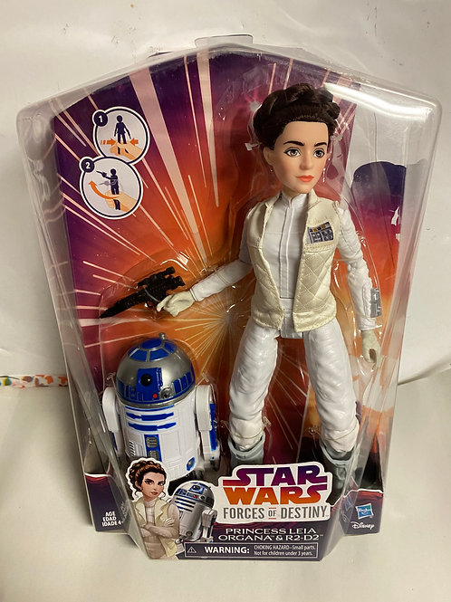 Star Wars Destiny Force Princess Leia Organa with R2-D2