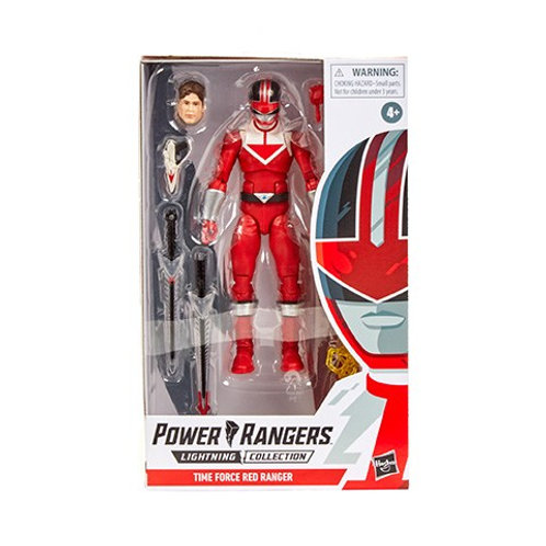 POWER RANGERS LIGHTNING COLLECTION WAVE 5 TIME FORCE RED RANGER