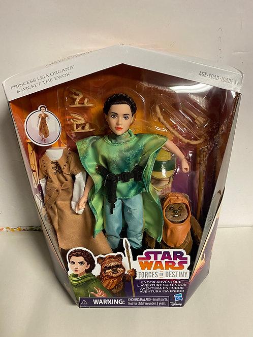 Star Wars Destiny Force Princess Leia with Ewok