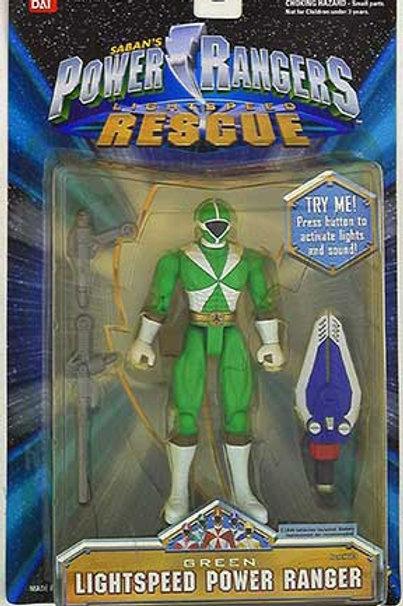 Green Lightspeed Power Ranger Spring 2000