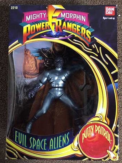 """Mighty Morphin Power Rangers Evil Space Aliens Putty Patrol 8"""" Action Figure"""