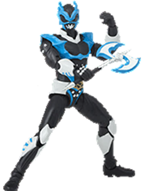 Power Rangers Legacy Collection Wave 6 In Space Psycho Blue