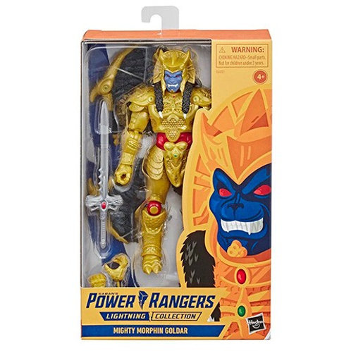 POWER RANGERS LIGHTNING COLLECTION MMPR GOLDAR GAMESTOP EXCLUSIVE