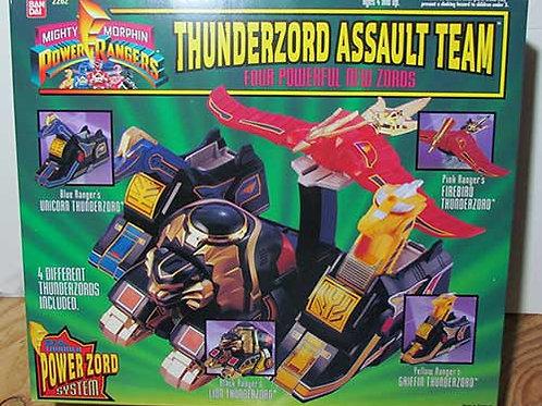 Mighty Morphin Power Rangers Thunderzord Assault Team 1994 Edition