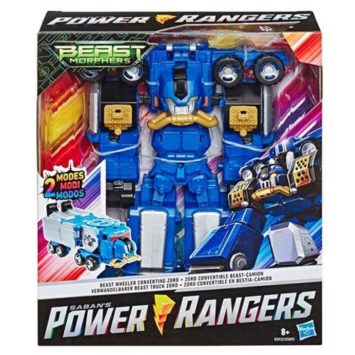 Power Rangers Beast Morphers Beast Wheeler Converting Megazord Zord