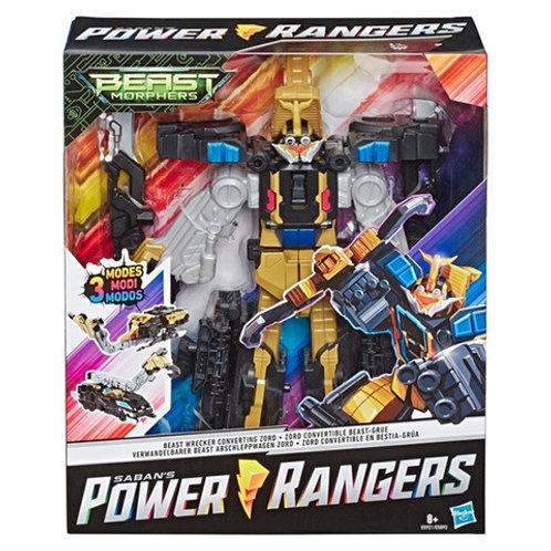 Power Rangers Beast Morphers Beast Wrecker Converting Zord