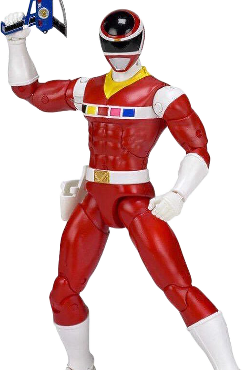 Power Rangers Legacy Collection Wave 2 Red In Space Ranger
