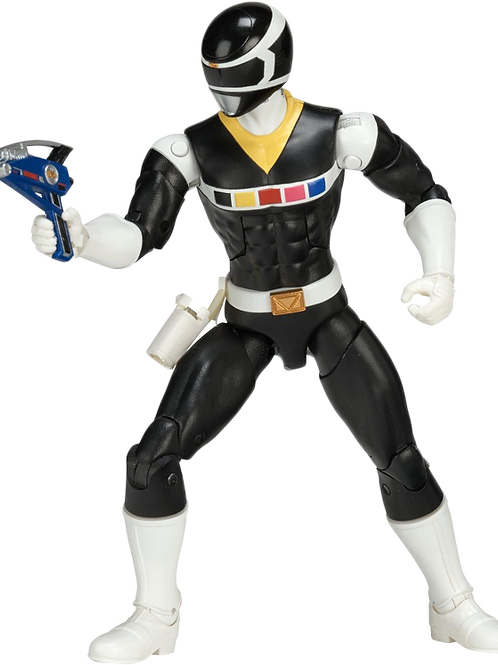 Power Rangers Legacy Collection Wave 3 Black In Space Ranger