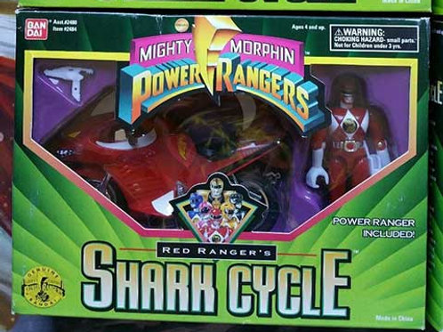Mighty Morphin Power Rangers Red Ranger's Shark Cycle