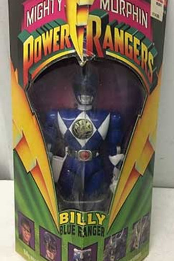 """Mighty Morphin Power Rangers Billy Blue Ranger 8"""" Action Figure"""