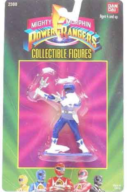 "Mighty Morphin Power Rangers 3"" Collectible Figures Series 1 Blue Ranger"