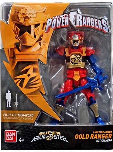 Lion Fire Armor Gold Ranger Action Hero