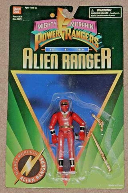"""Mighty Morphin Power Rangers 5"""" Red Alien Ranger"""
