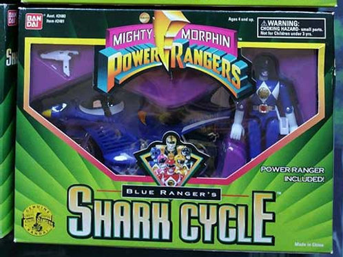 Mighty Morphin Power Rangers Blue Ranger's Shark Cycle