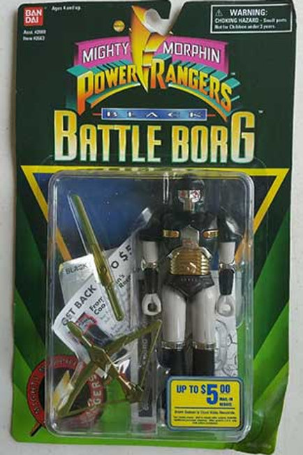 Mighty Morphin Power Rangers Alien Rangers Black Battle Borg