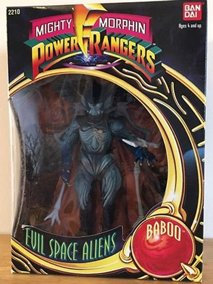 "Mighty Morphin Power Rangers Evil Space Aliens Baboo 8"" Action Figure"
