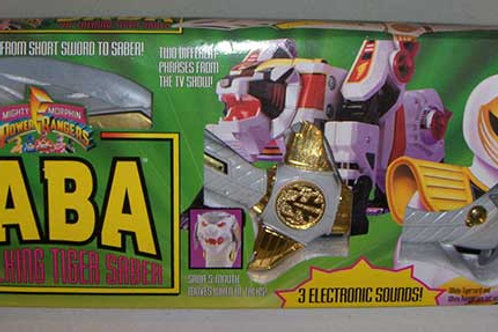 Mighty Morphin Power Rangers Saba The Talking Tiger Saber 1994 Edition