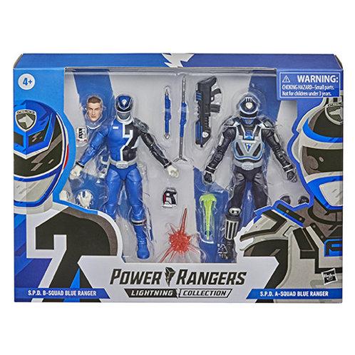 POWER RANGERS LIGHTNING COLLECTION S.P.D. B-Squad Blue Ranger & S.P.D. A-Squad B
