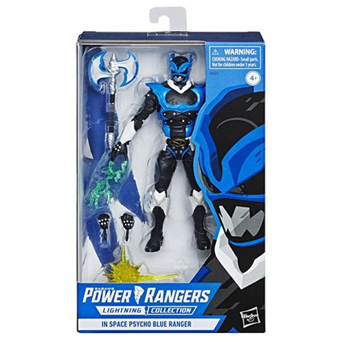 POWER RANGERS LIGHTNING COLLECTION IN SPACE PSYCHO BLUE GAMESTOP EXCL.