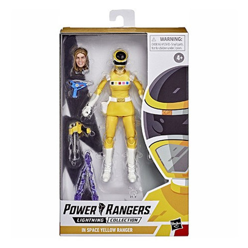 POWER RANGERS LIGHTNING COLLECTION (Wave 6) In Space Yellow