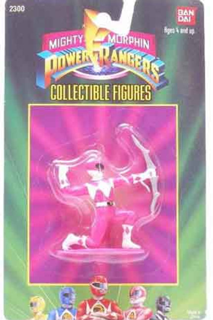 "Mighty Morphin Power Rangers 3"" Collectible Figures Series 1 Pink Ranger"
