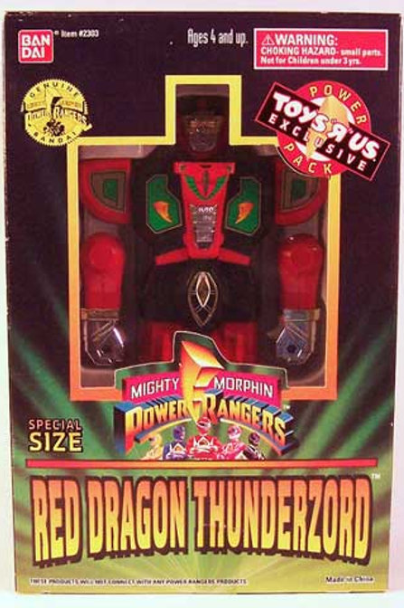 Mighty Morphin Power Rangers Special Size Red Dragon Thunderzord