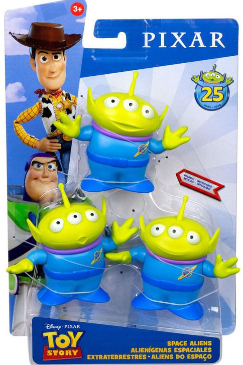 Disney's Toy Story 4 Movie action figure Space Aliens Set of 3