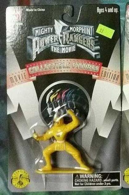 "Mighty Morphin Power Rangers The Movie 3"" Yellow Ninja Ranger Collectible Figure"