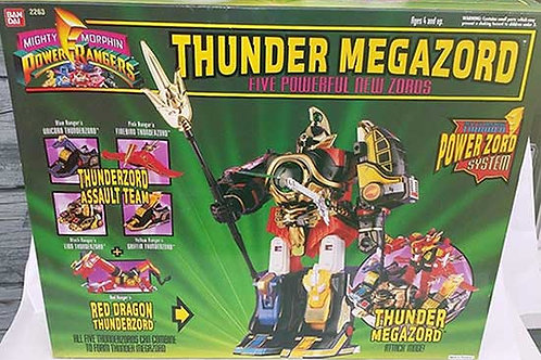 Mighty Morphin Power Rangers Deluxe Thunder Megazord 1994 Edition