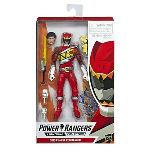 POWER RANGERS LIGHTNING COLLECTION WAVE 1 DINO CHARGE RED RANGER