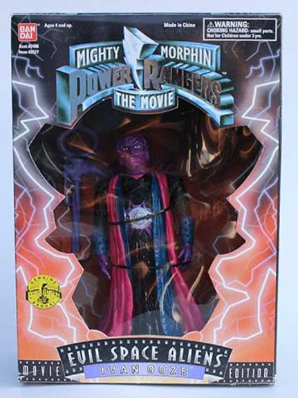 "Mighty Morphin Power Rangers 8"" 1995 Movie Edition Space Aliens Ivan Ooze"