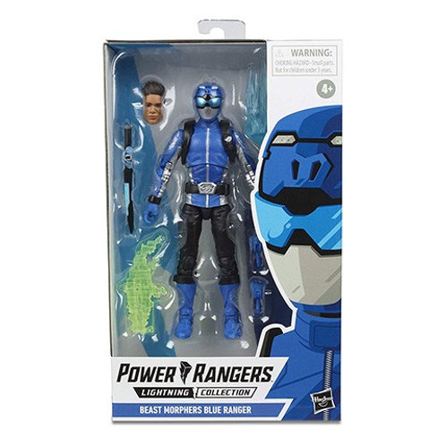 POWER RANGERS LIGHTNING COLLECTION WAVE 3 BEAST MORPHERS BLUE RANGER