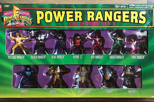 "Mighty Morphin Power Rangers 3"" Collectible Figures Series Collector Set 1"