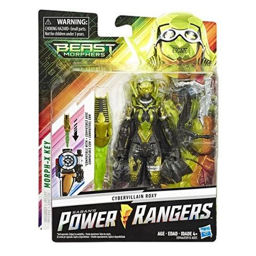 Power Rangers Beast Morphers Cybervillain Roxy Villain Action Figure