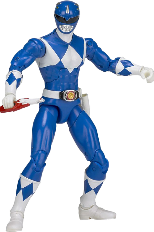 Power Rangers Legacy Collection Wave 2 Mighty Morphin Blue Ranger