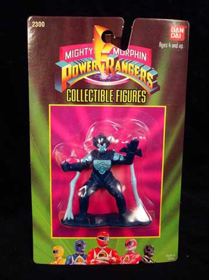 "Mighty Morphin Power Rangers 3"" Collectible Figures Series 1 Baboo"