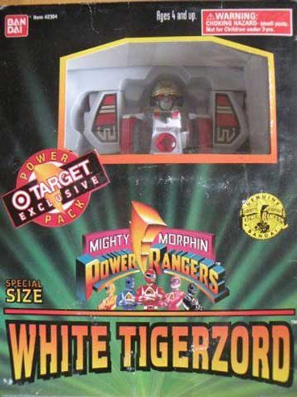 Mighty Morphin Power Rangers Special Size White Tigerzord